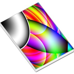 Psychedelic Design Large Memo Pads by timelessartoncanvas