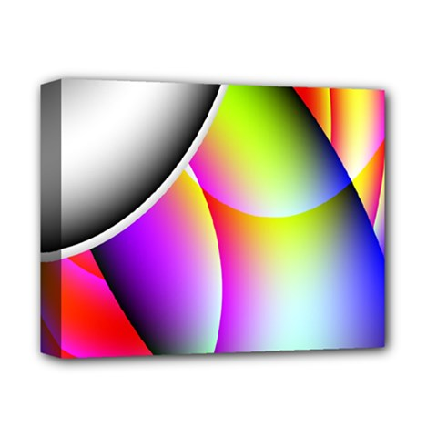 Psychedelic Design Deluxe Canvas 14  X 11  by timelessartoncanvas