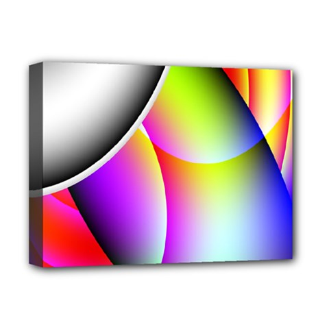 Psychedelic Design Deluxe Canvas 16  X 12   by timelessartoncanvas