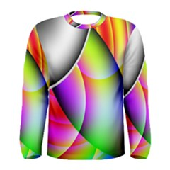 Psychedelic Design Men s Long Sleeve Tee by timelessartoncanvas