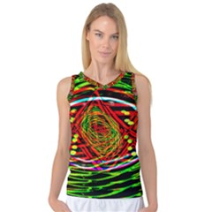 Star Bright Women s Basketball Tank Top