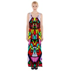 Second Best  Maxi Thigh Split Dress by MRTACPANS