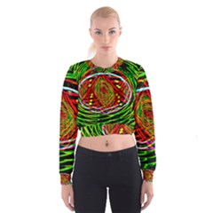 Star Bright Women s Cropped Sweatshirt