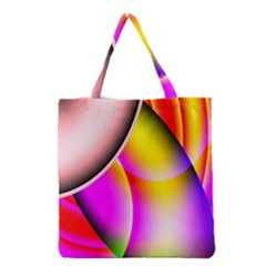 Colorful 1 Grocery Tote Bag by timelessartoncanvas