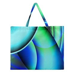 New 2 Zipper Large Tote Bag by timelessartoncanvas