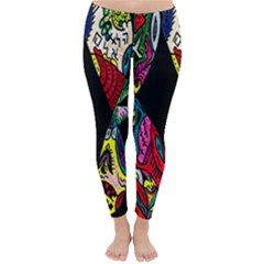 Birds Of Eight Winter Leggings