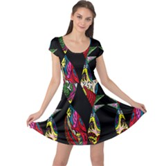 Birds Of Eight Cap Sleeve Dresses