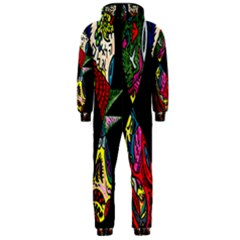 Birds Of Eight Hooded Jumpsuit (men)