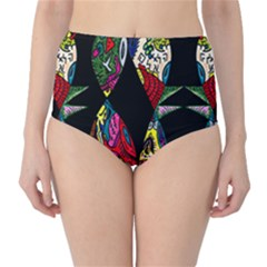 Birds Of Eight High Waist Bikini Bottoms