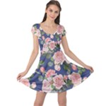 flower dress - Cap Sleeve Dress