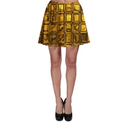 Glossy Tiles, Golden Skater Skirt