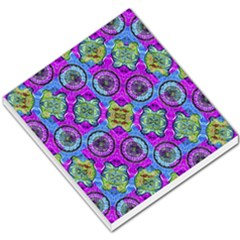 Collage Ornate Geometric Pattern Small Memo Pads by dflcprints