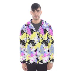 Abstract Hooded Wind Breaker (men) by Uniqued