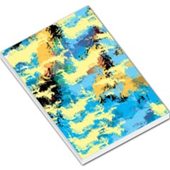 Abstract #4 Large Memo Pads