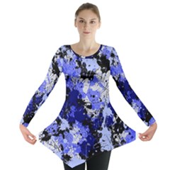 Abstract #7 Long Sleeve Tunic