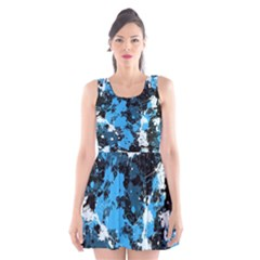 Abstract #8 Scoop Neck Skater Dress by Uniqued