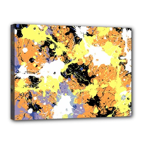 Abstract #10 Canvas 16  X 12  by Uniqued