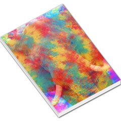 Abstract Elephant Large Memo Pads by Uniqued