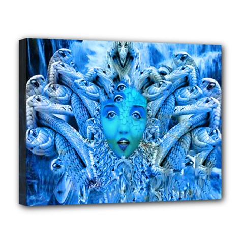Medusa Metamorphosis Canvas 14  X 11  by icarusismartdesigns