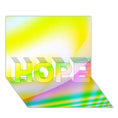 New 4 Hope 3d Greeting Card (7x5)