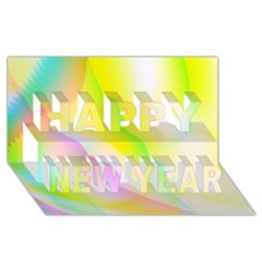 New 5 Happy New Year 3d Greeting Card (8x4)