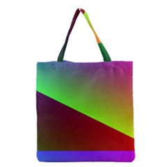 New 8 Grocery Tote Bag by timelessartoncanvas