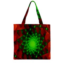 New 10 Zipper Grocery Tote Bag by timelessartoncanvas