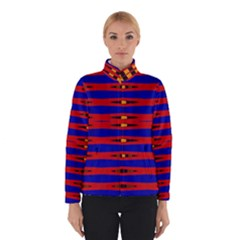 Bright Blue Red Yellow Mod Abstract Winterwear