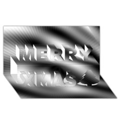 New 12 Merry Xmas 3d Greeting Card (8x4)  by timelessartoncanvas