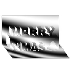 New 15 Merry Xmas 3d Greeting Card (8x4)  by timelessartoncanvas