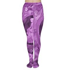 Vintage Purple Lady Cameo Tights by BrightVibesDesign
