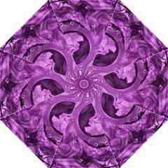 Vintage Purple Lady Cameo Straight Umbrellas by BrightVibesDesign
