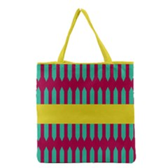 Stripes And Other Shapes   Grocery Tote Bag by LalyLauraFLM