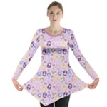 CutiE Moons Long Sleeve Tunic