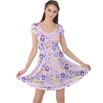 CutiE Moons Cap Sleeve Dress