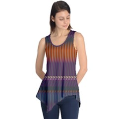 Curvy Stripes       Sleeveless Tunic by LalyLauraFLM