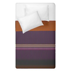 Curvy Stripes        Duvet Cover (single Size) by LalyLauraFLM