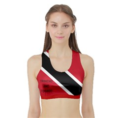 Sports Bra with Border