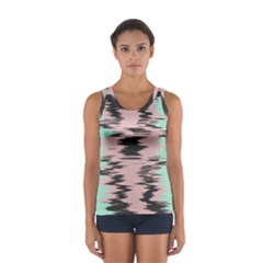 Wave form Women s Sport Tank Top by LalyLauraFLM