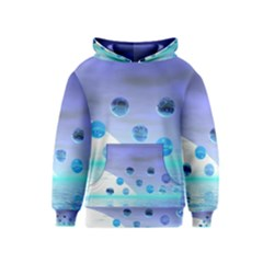 Moonlight Wonder, Abstract Journey To The Unknown Kids  Pullover Hoodie by DianeClancy