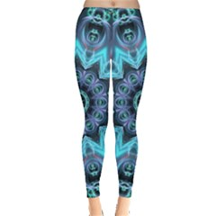 Star Connection, Abstract Cosmic Constellation Leggings