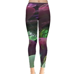 Creation Of The Rainbow Galaxy, Abstract Leggings  by DianeClancy