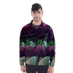 Creation Of The Rainbow Galaxy, Abstract Wind Breaker (Men) by DianeClancy