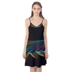 Flowing Fabric Of Rainbow Light, Abstract  Camis Nightgown by DianeClancy