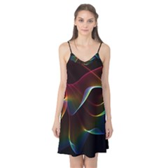 Imagine, Through The Abstract Rainbow Veil Camis Nightgown by DianeClancy
