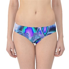 Peacock Crystal Palace Of Dreams, Abstract Hipster Bikini Bottoms by DianeClancy