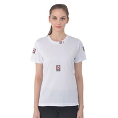 No Smoking  Women s Cotton Tee