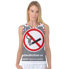 No Smoking  Women s Basketball Tank Top