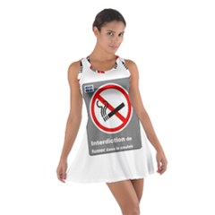 No Smoking  Racerback Dresses