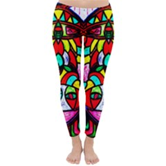 Upside Down Winter Leggings